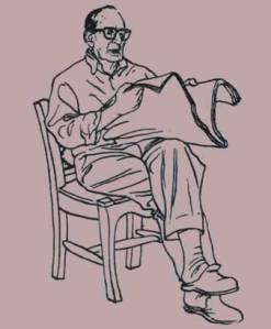 Ilustración del escritor vallisoletano